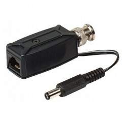 RJ45 to RG59 Video & Power Transceiver